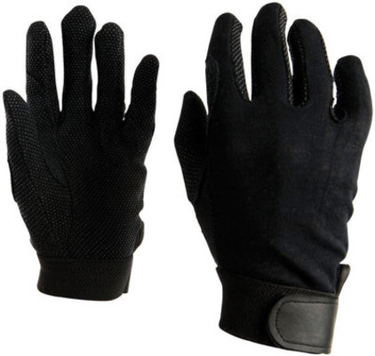 Good Hands Track Riding Gloves, pair