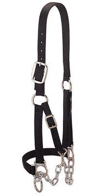 Weaver Heavy Duty Cow Restraint Halter, Black