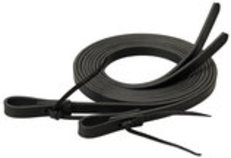 Weaver Black Latigo Split Reins