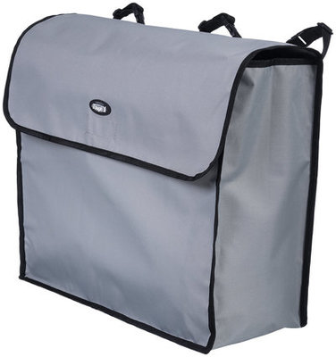 Blanket Storage Bag, Gray/Black