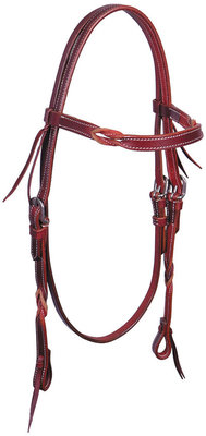 Blood Knot Browband Headstall