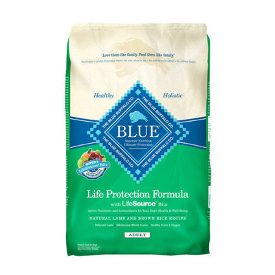 30 lb Blue Buffalo Lamb & Brown Rice