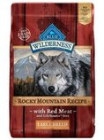 Blue Wilderness (Grain-Free) Large Breed Dog Food, Rocky Mountain, 22lb