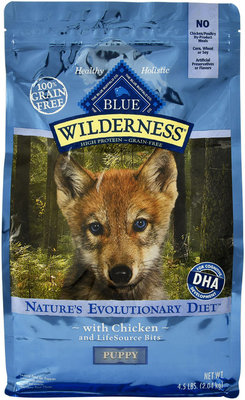 Blue Wilderness (Grain-Free) Puppy Food, Chicken