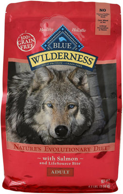 Blue Wilderness (Grain-Free) Adult Dog Food, Salmon