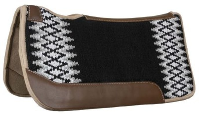 "Blue Horse Blanket Top Saddle Pad, 32"" x 32"""