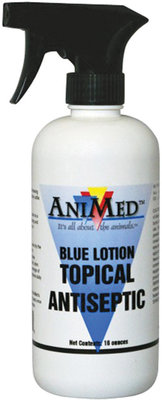 Blue Lotion Topical Antiseptic, 16 oz