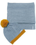Horseware Bobble Hat & Scarf Set
