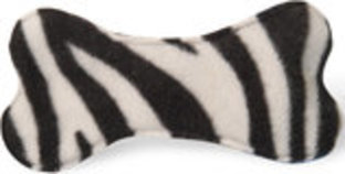 "Plush Unstuffed Bone with Squeaker, 7"" L"