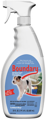 Boundary Indoor/Outdoor Pet Repellent Spray