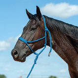 Braided Mule Tape Halter w/ 9' Lead