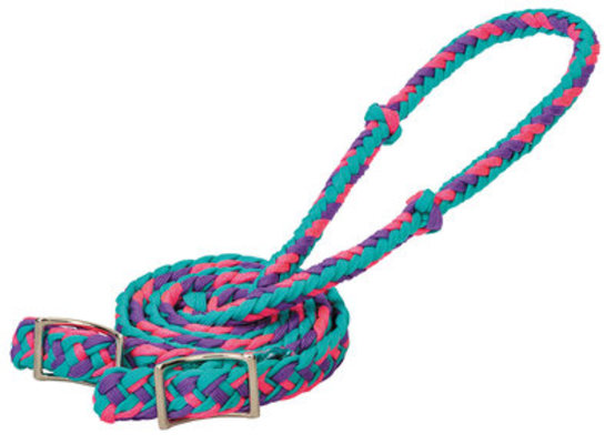 Braided Nylon Barrel Reins