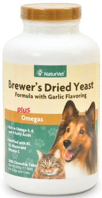1000 count Brewer's Dried Yeast Formula with Omegas, (tablets)