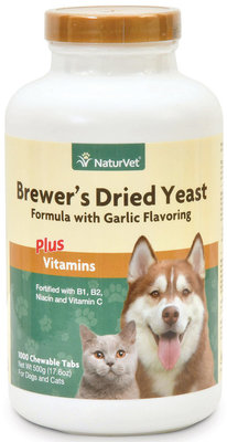 1000 Count Brewer's Dried Yeast (chewable tablets)