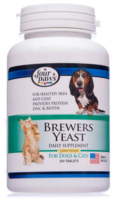 Four Paws Brewers Yeast with Garlic (Tablets)