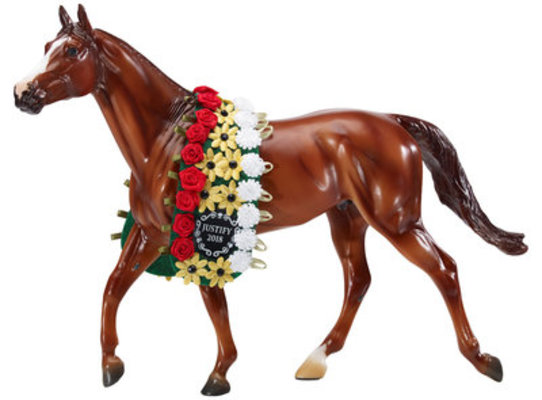 """Justify"" Traditional Breyer Horse Collectible"