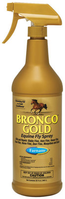 Bronco Gold Equine Fly Spray, quart