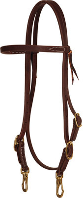 Browband Headstall w/ Snap Ends