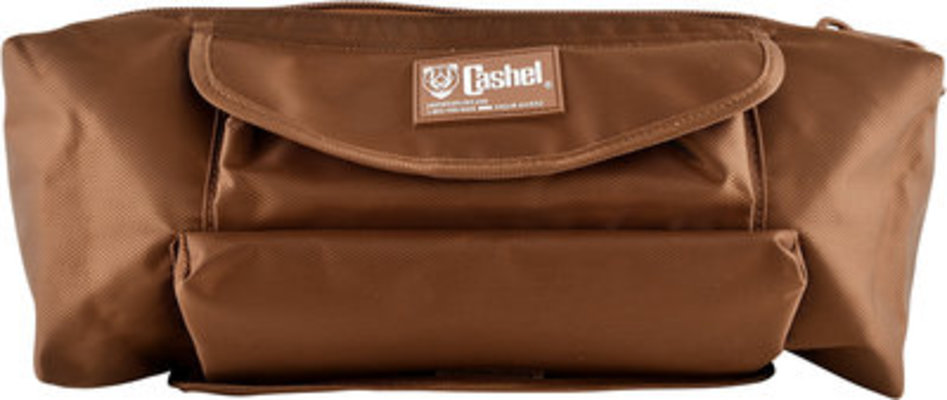 Cashel Cantle Saddle Bag, Brown