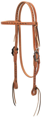 Buckstitch Browband Headstall, Full