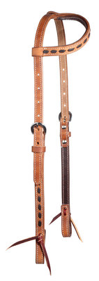 Buckstitch Harness Leather One Ear Headstall
