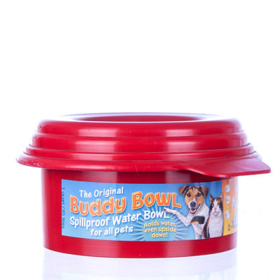 Buddy Bowl 1 qt Red