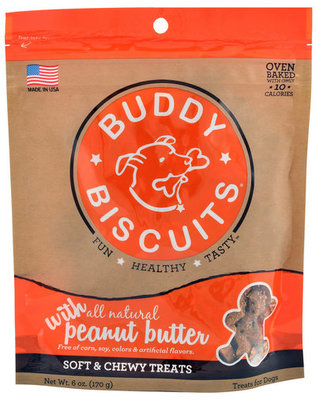 Soft & Chewy Buddy Biscuits, 6 oz