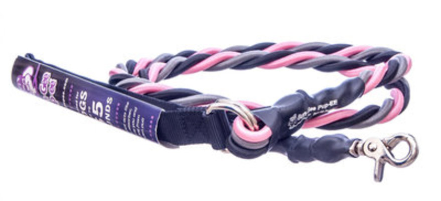 Bungee Pupee Dog Leash, Large (up to 65 lb), 6' L