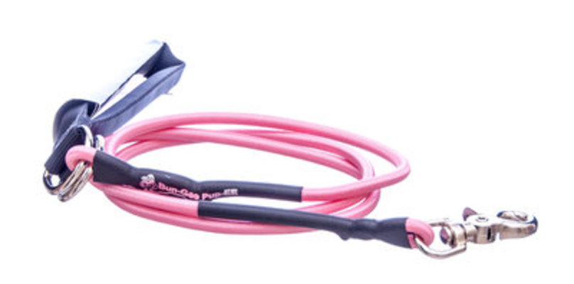 Bungee Pupee Dog Leash, Small (up to 25 lb), 6' L