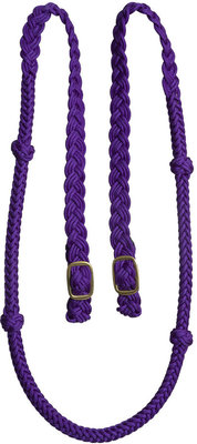Cable Knotted Barrel Rein, 7'