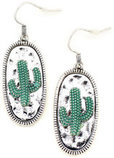 Cactus Token Earrings