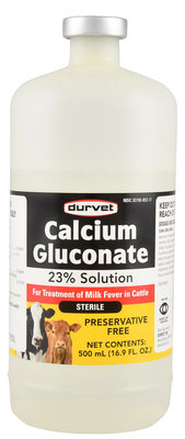 Calcium Gluconate 23% Solution,  500 mL
