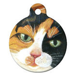 Calico Kitty, Custom ID Tag