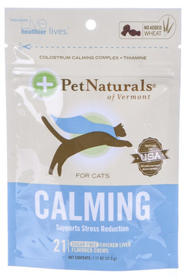 Calming Chews for Cats, 21 count