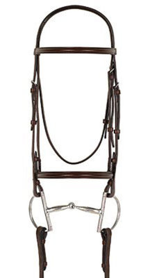 Camelot Plain Raised Snaffle Bridle