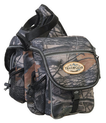 Camo Trail Gear Pommel Bag
