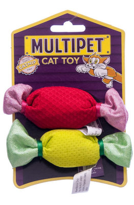 Candy with Crinkle Cat Toys, 4.25""