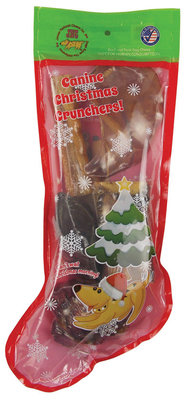 Jones' Canine Christmas Crunchers Stocking