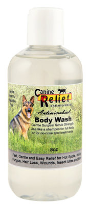 Canine Relief Antimicrobial Body Wash