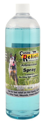 Canine Relief Antimicrobial Spray