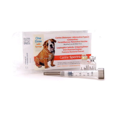 Canine Spectra 10 (10-way) Dog Vaccine