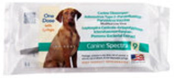 Canine Spectra 9, single dose - 1 Dose