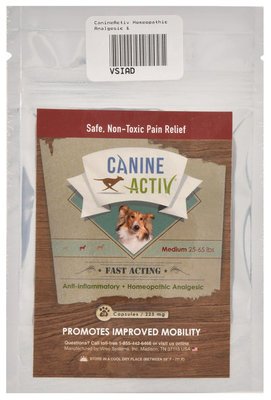CanineActiv Travel Pack, Medium Dogs (25-65 lb)