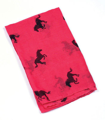 """Cantering Horses"" Scarf"