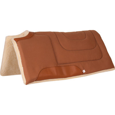 Canvas Cut Back Built Up Saddle Pad