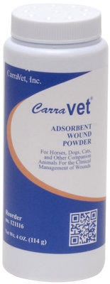 CarraVet® Adsorbent Wound Powder