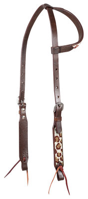 "Cashel ""Cheetah"" Sliding Ear Headstall"