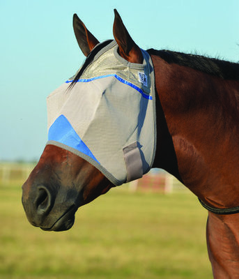 Wounded Warrior Crusader Standard Fly Mask without Ears
