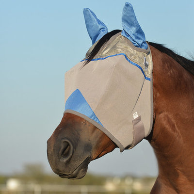 Wounded Warrior Crusader Standard Fly Mask w/ Ears