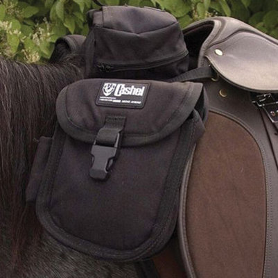 English Front Saddle Bag